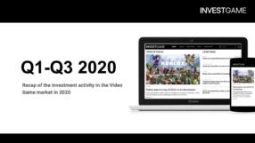 INVESTGAME — Investment Activity Report (Q1-Q3 2020)