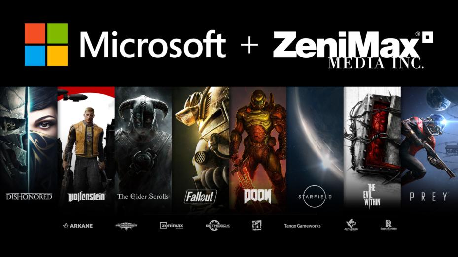 Microsoft Acquires ZeniMax Media For $7.5B