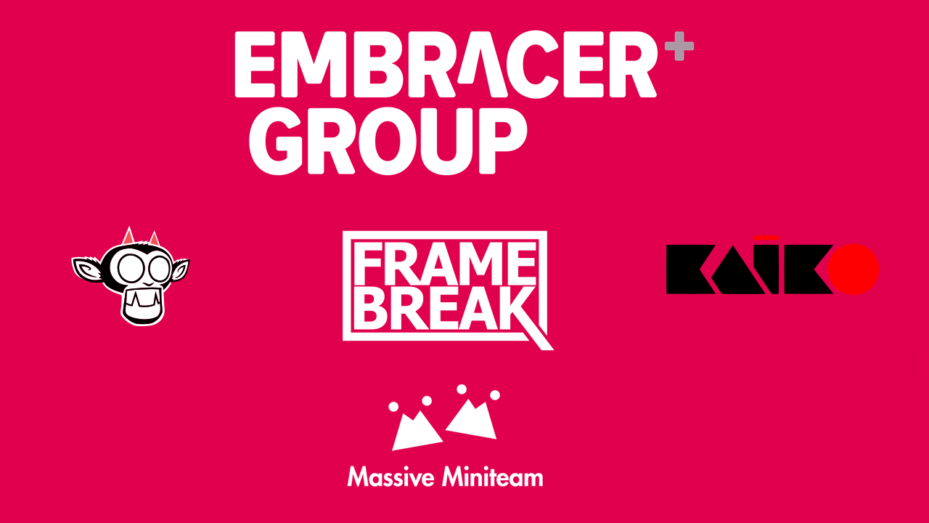 Embracer Group acquires Appeal Studios, Kaiko, Massive Miniteam and Ffame Break for up to $14.75m